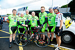At the Emmett's Scenic Challenge Sportive Cycle in Listowel were Ted Ahern, Sean O'Shea, Tj Reidy, Derek Byrne, James Allen, Ray Enright and Paudie Lynch