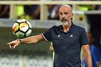Stefano Pioli Fiorentina <br /> Firenze 27-08-2017 Stadio Artemio Franchi Calcio Serie A Fiorentina - Sampdoria Foto Andrea Staccioli / Insidefoto