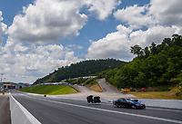 Jun 17, 2017; Bristol, TN, USA; NHRA pro mod driver Bob Rahaim during qualifying for the Thunder Valley Nationals at Bristol Dragway. Mandatory Credit: Mark J. Rebilas-USA TODAY Sports