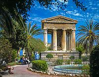 Malta, Valetta: Upper Barracca Gardens - Park | Malta, Valetta: Upper Barracca Gardens - Park