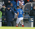 Chris Hegarty limps off