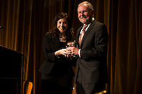 Ray Baxter is awarded at The International Medical Corps Gala on Nov. 12, 2015 (Photo by Jason Sean Weiss/Guest of a Guest)