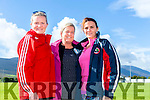 Cathy Sheehan, Karen Phoenix and Theresa Greaney at the Tony O'Donoghue Memorial Walk at St Pat's GAA Club on Sunday