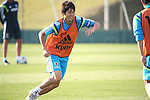 Atsuto Uchida (JPN),<br /> JUNE 22, 2014 - Football / Soccer : Japan's national soccer team training session at Japan's team base camp at Training Site Pass in Itu Brazil.<br /> (Photo by Kenzaburo Matsuoka/AFLO)