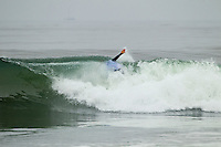 """LOWER TRESTLES, California / USA (Tuesday, September 20, 2011) - The Hurley Pro at Trestles returned to Lowers for the third consecutive day and saw the world's best surfers put in stellar performances in improved conditions as the frontrunners on the ASP Top 34 proved lethal in their battle for this year's heated ASP World Title race...Joel Parkinson (AUS), 30, current No. 3 on the ASP World Title Race, surgically dissected two Lower Trestles set waves, notching a 17.00 total in a close heat to surpass Huntington Beach's Brett Simpson (USA), 26, despite a valiant effort from the Californian in Round 3...""""I was hoping for just a couple waves and we got a couple of set waves each,"""" Parkinson said. """"I watched the first two of Brett's (Simpson) waves after I got my scores and wanted to stay involved, but I just couldn't worry or watch. He's an amazing surfer and beat me in Tahiti so it was kind of good to get one back. We've surfed the last three events together and there are those little rivalries that pop up.""""..Parkinson's dominance continued in Round 4, when he went for broke on a long righthander in need of a near-perfect score to overtake Julian Wilson (AUS), 22, and logged a 9.13 to secure the day's highest heat-total of 18.06 (out of 20) while advancing directly through to the Quarterfinals...""""Julian's wave wave was sick,"""" Parkinson said. """"I don't know what to say about it though, I'm a purist. That wave of mine was a long wave, my legs were burning at the end. Me and Julian were hassling and I thought 'I don't care if I get an interference or not, I'm losing anyway.' Mick got that wave before it too, that was a great heat.""""..Owen Wright (AUS), 21, current No. 2 on the ASP World Title Series, earned an amazing come-from-behind victory to defeat young Hawaiian John Florence (HAW), 18, in a high-scoring heat of 17.84 to 17.13. Wright locked in to a long Lowers right with just minutes remaining in the matchup in need of a 9-point score and unloaded a series of furi"""