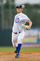 Starting pitcher Andrew Cashner #24 of the Daytona Cubs in action versus the St. Lucie Mets at Jackie Robinson Stadium June 16, 2009 in Daytona Beach, Florida. (Photo by Brian Westerholt / Four Seam Images)