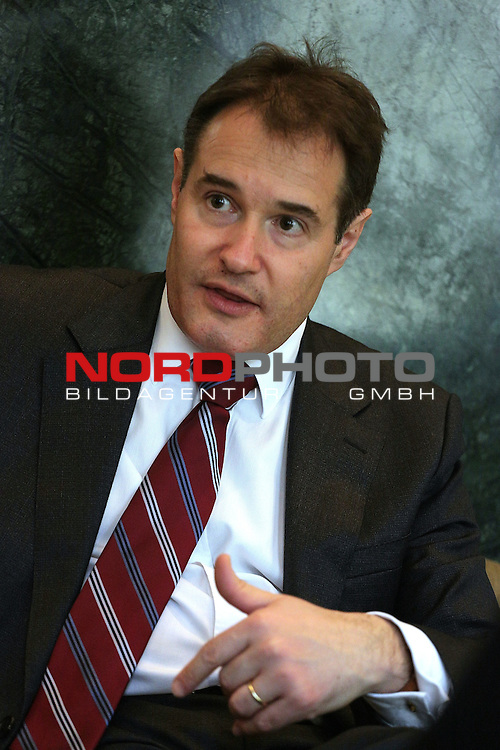 27.03.2015., Zagreb, Croatia - Fabrice Lagger, executive director of the European Agency for the Management of Operational Cooperation at the External Borders of the Member States of the European Union Frontex.<br /> Photo: Zarko Basic/PIXSELL