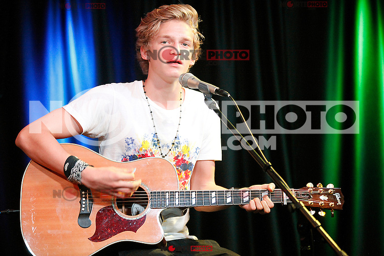 Cody Simpson visits Q102's iHeart Radio Performance Theater in Bala Cynwyd, Pa on August 10, 2012  &copy; Star Shooter / MediaPunchInc /NortePhoto.com*<br />