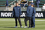 07 December 2008: Notre Dame head coach Randy Waldrum. The University of North Carolina Tar Heels defeated the Notre Dame Fighting Irish 2-1 at WakeMed Soccer Park in Cary, NC in the championship game of the 2008 NCAA Division I Women's College Cup.