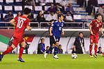 Takashi Inui of Japan in action during the AFC Asian Cup UAE 2019 Quarter Finals match between Vietnam (VIE) and Japan (JPN) at Al Maktoum Stadium on 24 January 2018 in Dubai, United Arab Emirates. Photo by Marcio Rodrigo Machado / Power Sport Images