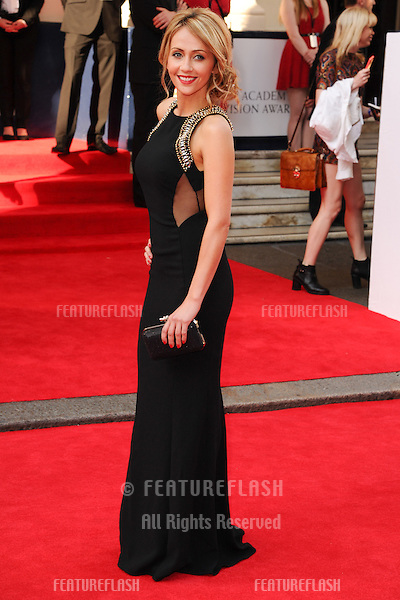 Samia Ghadie arriving for the Arqiva British Academy Television Awards (Bafta TV Awards) at Theatre Royal, London. 18/05/2014 Picture by: Steve Vas / Featureflash