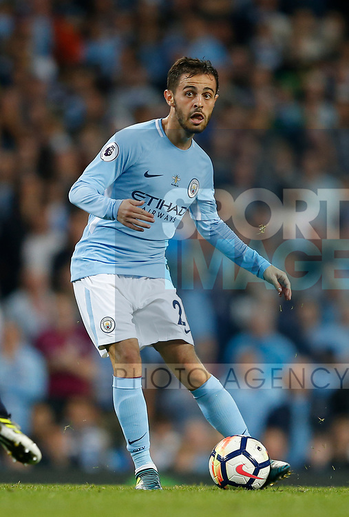 Bernardo Silva of Manchester City during the Premier League match at the Eithad Stadium, Manchester. Picture date 21st August 2017. Picture credit should read: Simon Bellis/Sportimage