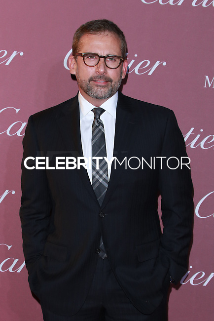 PALM SPRINGS, CA, USA - JANUARY 03: Steve Carell arrives at the 26th Annual Palm Springs International Film Festival Awards Gala Presented By Cartier held at the Palm Springs Convention Center on January 3, 2015 in Palm Springs, California, United States. (Photo by David Acosta/Celebrity Monitor)