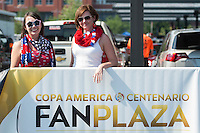 Action photo during the match USA vs Paraguay at Lincoln Financial Field, Copa America Centenario 2016. ---Foto  de accion durante el partido USA vs Paraguay, En el Lincoln Financial Field, Partido Correspondiante al Grupo - D -  de la Copa America Centenario USA 2016, en la foto: Fans