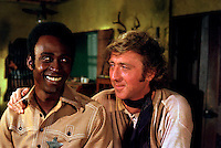CLEAVON LITTLE &amp; GENE WILDER  <br /> in Blazing Saddles<br /> *Filmstill - Editorial Use Only*<br /> CAP/PLF<br /> Supplied by Capital Pictures / MediaPunch
