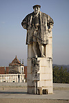 Joao III Statue, Old University, Coimbra, Portugal