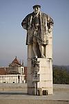 Joao III Statue, Old University, Coimbra, Portugal