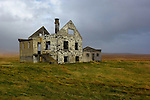 Ruins of home on the west coast of Iceland. (Bob Gathany)