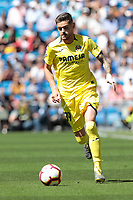 Villarreal CF's player during La Liga match between Real Madrid and Villarreal CF at Santiago Bernabeu Stadium in Madrid, Spain. May 05, 2019. (ALTERPHOTOS/A. Perez Meca)<br /> Liga Campionato Spagna 2018/2019<br /> Foto Alterphotos / Insidefoto <br /> ITALY ONLY