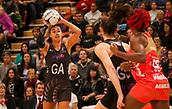 10th September 2017, PG Arena, Napier, New Zealand; Taini Jamison Netball Trophy, New Zealand versus England;  New Zealands Maria Tutaia