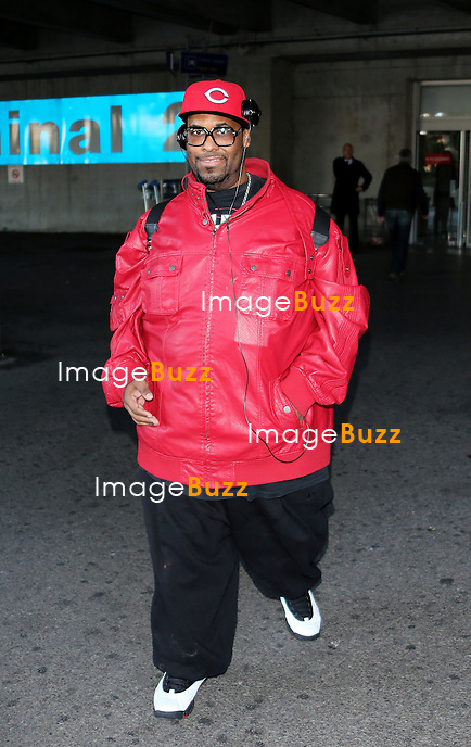 BIG ALI January 25,, 2013-Big Ali arriving at Nice airport to attend the NRJ Music Awards in Cannes, France.