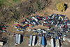 Aerial view of Junk Yard