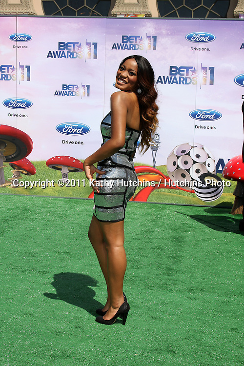 LOS ANGELES - JUN 26:  Keke Palmer arriving at the 11th Annual BET Awards at Shrine Auditorium on June 26, 2004 in Los Angeles, CA