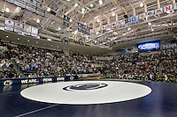 STATE COLLEGE, PA - JANUARY 25: A view of the crowd before a match between the Minnesota Golden Gophers and the Penn State Nittany Lions on January 25, 2015 at Recreation Hall on the campus of Penn State University in State College, Pennsylvania. Minnesota won 17-16. (Photo by Hunter Martin/Getty Images) *** Local Caption ***