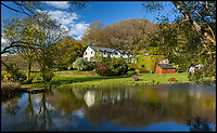 BNPS.co.uk (01202 558833)<br /> Pic: Jackson-Stops&amp;Staff/BNPS<br /> <br /> Otterly adorable...<br /> <br /> An isolated home that sits on the banks of the river immortalised in the classic novel Tarka the Otter has gone on the market for almost &pound;1m.<br /> <br /> Hadlow House enjoys complete privacy as it is surrounded by woodland on three sides, water on the other and is half-a-mile from the nearest property.<br /> <br /> It is elevated above the River Torridge in Devon, where the lovable otter Tarka enjoyed many of his adventures in Henry Williamson's seminal 1927 book.<br /> <br /> The estate agents selling it say it could be the ideal property for someone looking to quit the London rat-race and get away from it all.