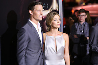 HOLLYWOOD, LOS ANGELES, CA, USA - SEPTEMBER 29: Ward Horton, Annabelle Wallis arrive at the Los Angeles Premiere Of New Line Cinema's 'Annabelle' held at the TCL Chinese Theatre on September 29, 2014 in Hollywood, Los Angeles, California, United States. (Photo by Xavier Collin/Celebrity Monitor)