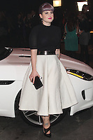 PLAYA VISTA, CA - NOVEMBER 19: Kelly Osbourne at the 2015 Jaguar F-TYPE Coupe Global Debut held at Raleigh Studios on November 19, 2013 in Playa Vista, California. (Photo by Xavier Collin/Celebrity Monitor)