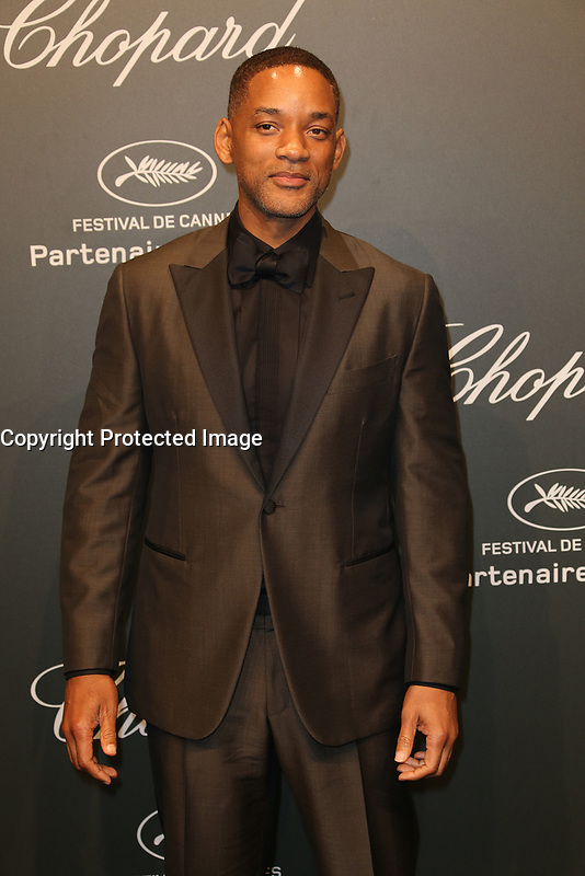WILL SMITH Chopard Space Party Photocall The 70th Cannes Film Festival<br /> CANNES FRANCE MAY 19