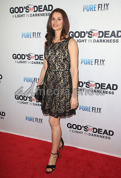 "20 March 2018 - Hollywood, California - Jennifer Taylor. ""God's Not Dead: A Light In Darkness"" Premiere held at American Cinematheque Egyptian Theatre. Photo Credit: F. Sadou/AdMedia"