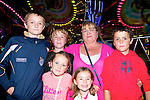 Wren Boy Night : Attending the all Ireland Wren Boy Competition in Listowel on Friday night last were Bernard, Nikolai, Mya, Michelle & Cian O'Callaghan with Patricia McCabe.