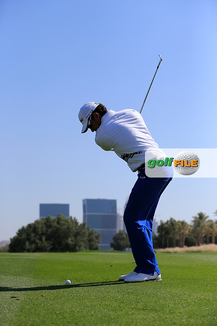 Rafa CABRERA-BELLO (ESP) during Wednesday's Pro-Am day of the 2015 Commercial Bank Qatar Masters, Doha Golf Club, Doha, Qatar.: Picture Eoin Clarke, www.golffile.ie: 1/20/2015
