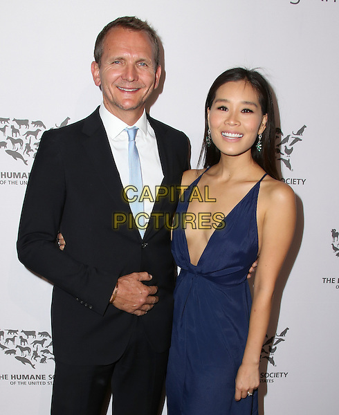 HOLLYWOOD, CA - MAY 07: Alicia Hannah, Sebastian Roche attends The Humane Society of the United States' to the Rescue Gala at Paramount Studios on May 7, 2016 in Hollywood, California.  <br /> CAP/MPI/PA<br /> &copy;PA/MPI/Capital Pictures