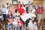 CHRISTENING: Fiona and Denis O'Connor, Ballyrickard, Tralee (seated centre), celebrated the christening of their son Ronan with family and friends in the Ballyroe Heights Hotel on Saturday afternoon.   Copyright Kerry's Eye 2008