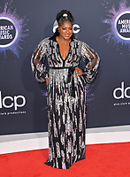 LOS ANGELES, USA. November 25, 2019: Ester Dean at the 2019 American Music Awards at the Microsoft Theatre LA Live.<br /> Picture: Paul Smith/Featureflash