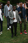 Comdian Kevin Hart Attends The 2nd Annual Compound Foundation Benefit Honoring Academy Award-Winning Actor Louis Gossett, JR, Celebrity Photographer Johnny Nunez, Cartoon Network President & COO Stuart C. Snyder hosted by Ne-Yo and Kevin Hart Held at Private Location in East Hamptons, NY
