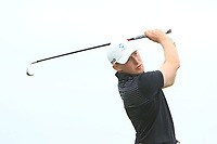 Stephen Roger (SCO) on the 1st tee during Round 1of the Flogas Irish Amateur Open Championship 2019 at the Co.Sligo Golf Club, Rosses Point, Sligo, Ireland. 16/05/19<br /> <br /> Picture: Thos Caffrey / Golffile<br /> <br /> All photos usage must carry mandatory copyright credit (© Golffile | Thos Caffrey)