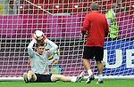11.06.2012 WARSZAWA STADION NARODOWY.PILKA NOZNA KADRA REPREZENTACJA.MISTRZOSTWA EUROPY W PILCE NOZNEJ EURO2012 POLSKA I UKRAINA.FOOTBALL EUROPEAN CHAMPIONSHIPS UEFA EURO 2012.TRENING PREPREZENTACJI POLSKI .N/Z PRZEMYSLAW TYTON.FOT LUKASZ LASKOWSKI / PRESSFOCUS NEWSPIXPL.---.Newspix.pl