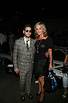 Josh Flagg and The Real Housewives of New York's Sonja Morgan Attend Daisy Fuentes Spring/Summer 2014 Fashion Show Held at Eybeam, NY