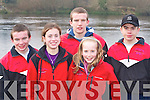CLUB: Members of the Workman's rowing club at the regatta in Killorglin on Saturday l-r: Paul Sheehan, Leen Qasim, Jamie Sheehan, Nia Sheehan and Kareem Qasim.   Copyright Kerry's Eye 2008