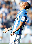 CD Leganes' Luciano Neves dejected during La Liga match. October 15,2016. (ALTERPHOTOS/Acero)