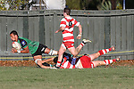 NELSON, NEW ZEALAND - JUNE 11: Div 1 Rugby Waimea v Marist on June 11 2016  Jubilee Park in Nelson, New Zealand. (Photo by: Evan Barnes Shuttersport Limited)