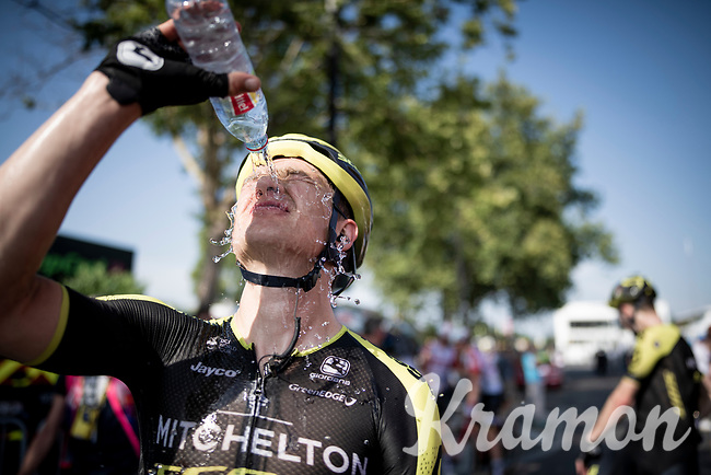 at the finish line in Nîmes<br /> <br /> Stage 16: Nîmes to Nîmes (177km)<br /> 106th Tour de France 2019 (2.UWT)<br /> <br /> ©kramon