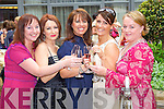 HIGH SPIRITS: Getting into the spirit of things at the Enable Ireland Lunch & Fashion Show on Friday at the Fels Point Hotel were l-r: Charlotte Dolan, Helen O'Carroll, Ashley O'Shea, Deirdre Gaudino and Catherine McDonnell.    Copyright Kerry's Eye 2008