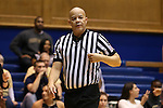 07 January 2016: Referee Daryl Humphrey. The Duke University Blue Devils hosted the Wake Forest University Demon Deacons at Cameron Indoor Stadium in Durham, North Carolina in a 2015-16 NCAA Division I Women's Basketball game. Duke won the game 95-68.