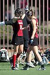 Santa Barbara, CA 02/14/09 - Claire O'Leary (8) & Maggie Spreitzer (23)
