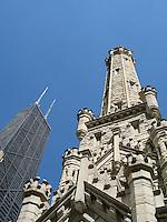 Chicago's Water Tower & John Hancock Building